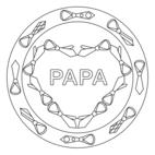 Vatertag-Mandala