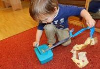 Feuchttücher-Überraschungsbox für Krippenkinder