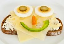 Eat-Art für Kinder: Gute Laune Brote