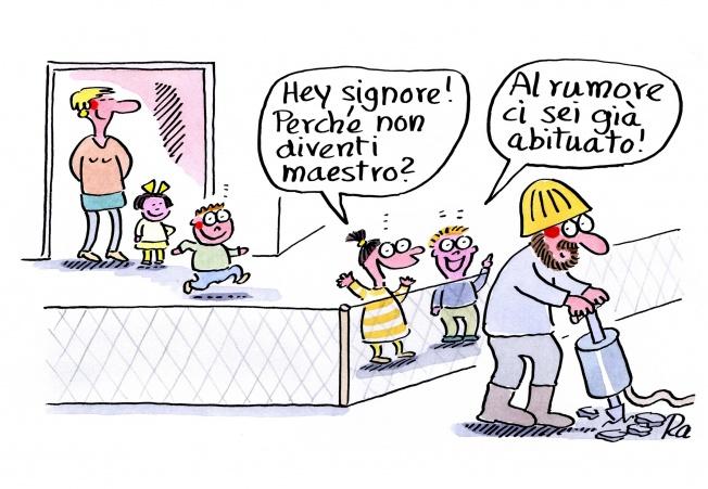 Scuola dell'infanzia_KiGaPortal_Fumetti_Renate Alf_Maenner