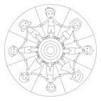 Kinder-Mandala