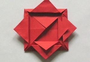 Origami dress birthday gift card | Bubanana | 206x298