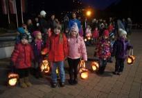 Portfolio Page: Our Fall Festival with Lanterns