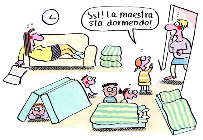 Kigaportal_Scuola dell'infanzia_Fumetti_Renate Alf_Riposino