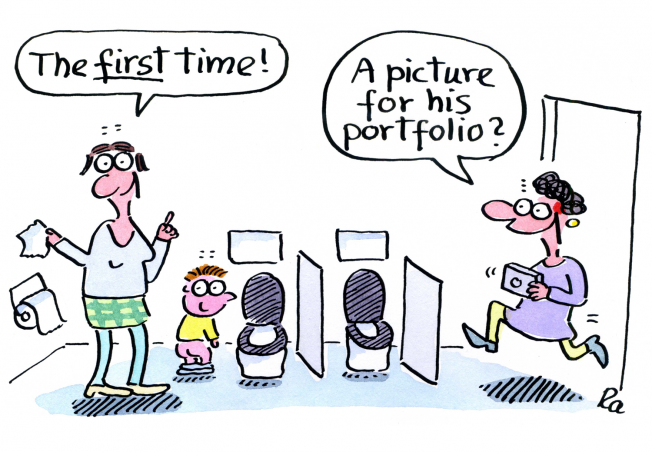 Kigaportal_preschool_Cartoons_Renate Alf_First Time