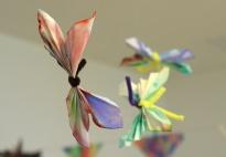 Duftige Deko Schmetterlinge aus Filtertüten