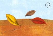 Blättertanz - ein Tanz mit Chiffontüchern