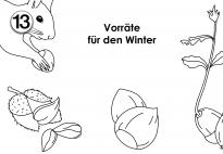 Kindergarten eichhörnchen