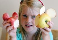 Die Schritt-für-Schritt Anleitung für ein Apfelmäuschen