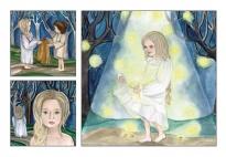 Das Märchen von den Sterntalern - große Erzählkarten
