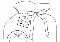Der Nikolaus braucht Hilfe: Schneidebild im Zahlenraum 1-6SW