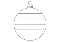 Die Weihnachtskugel: Muster erfinden