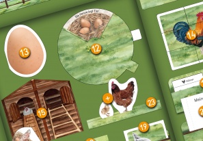 Project Plan: Chicken Lapbook