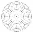 Farben-Mandala
