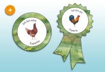 Auszeichnungen: Hühner