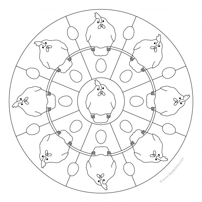 Huehner-Mandala-2
