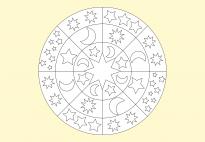 Sterne-Mandala 22