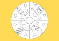 Laternen-Mandala 2