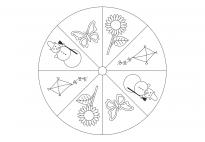 Jahreszeiten-Mandala 1