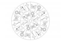 Jahreszeiten-Mandala 2