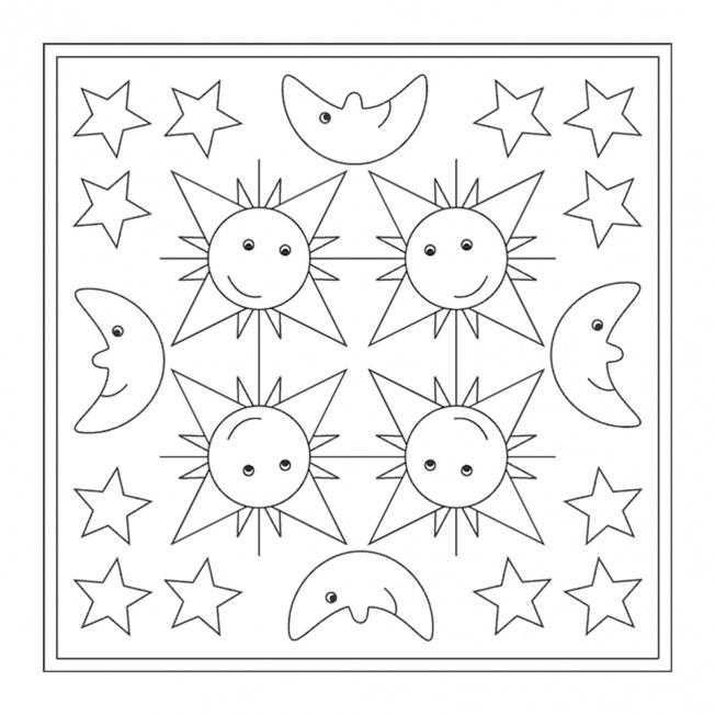 Sterne-Mandala 2