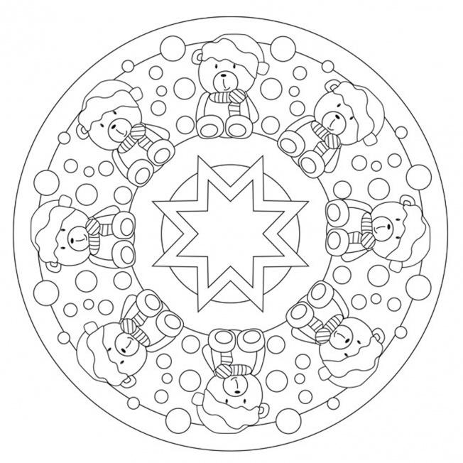 Balduin Mandala 1 Fr Kindergarten KiTa Und Schule