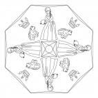 Froschkönig-Mandala