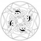 Lucky Ladybug Mandala