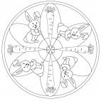 Hasen-Mandala