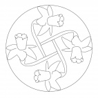 Daffodil Mandala