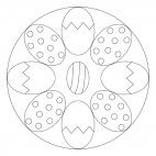 Easter Egg Mandala 2