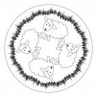 Lamb Mandala 2