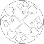 Herz-Mandala 2