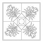 Krokus-Mandala
