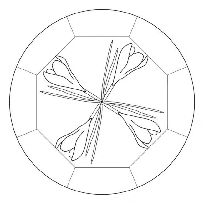 Krokus Mandala