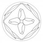 Tulpen-Mandala 1
