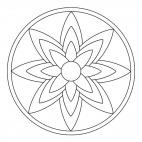 Blossom Mandala 1