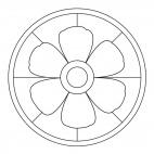 Blossom Mandala 4