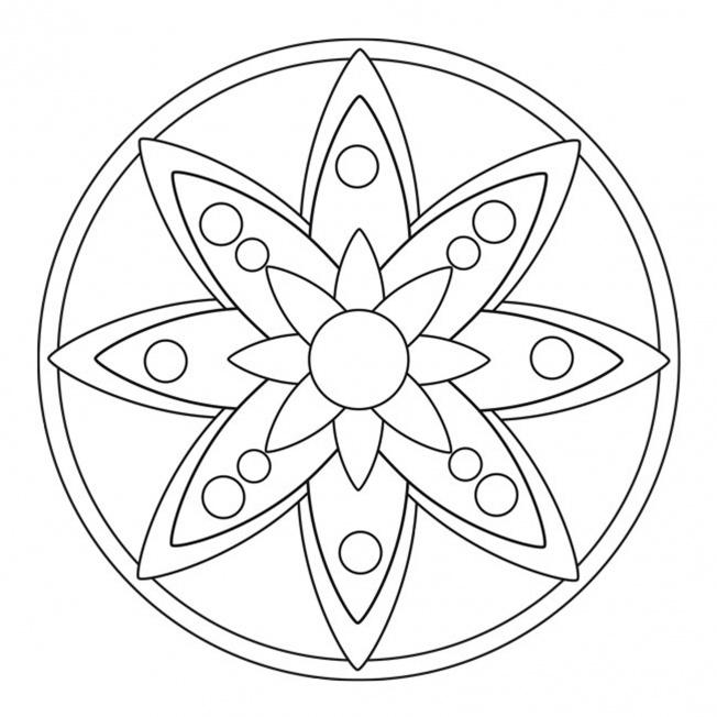 Blüten-Mandala 5