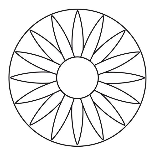 Blüten-Mandala 7