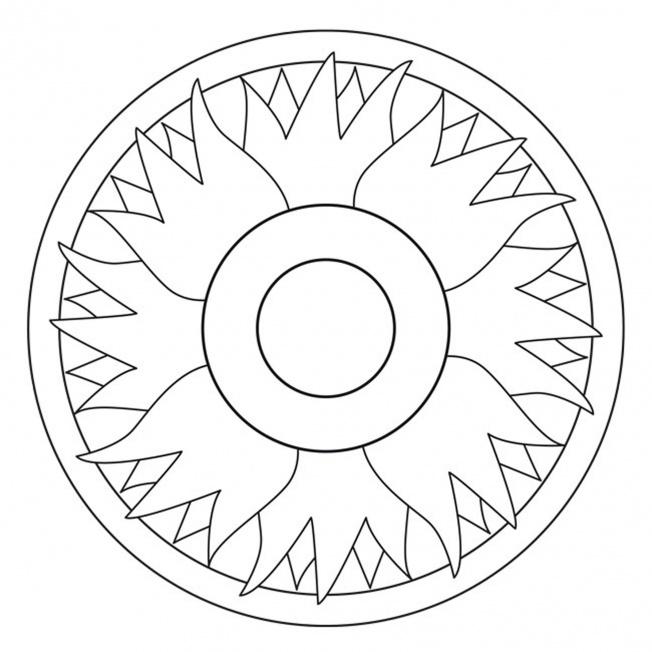 Blüten-Mandala