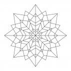 Sterne-Mandala 3
