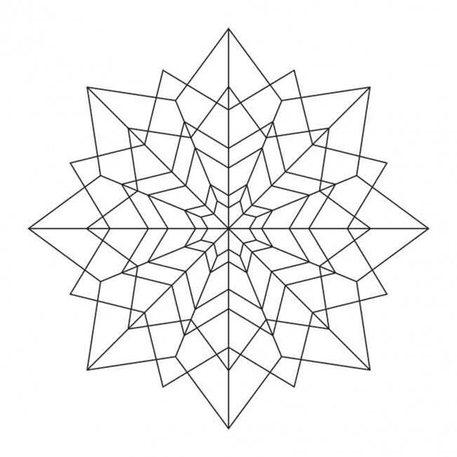 Sterne Mandala 3