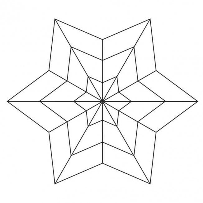 Sterne-Mandala 5