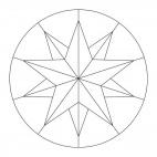 Sterne-Mandala 6