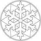 Sterne-Mandala 7