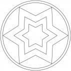 Sterne-Mandala 8