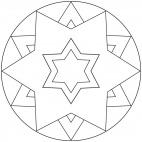Sterne-Mandala 9