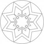 Sterne-Mandala 12