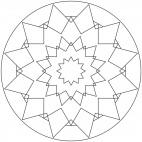 Sterne-Mandala 16